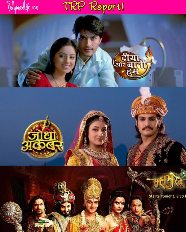Diya Aur Bati Hum, Mahabharat and Jodha Akbar continue to hold the top slots – Read TRP report!