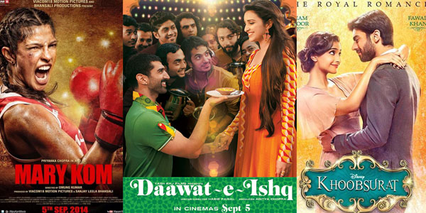 Daawat-e-Ishq changes release date to September 19 to avert clash with Mary Kom, but will now clash with Khoobsurat!