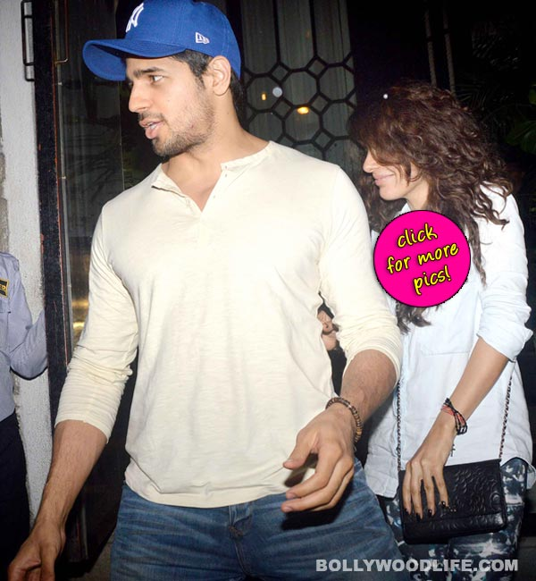 Who is the mystery woman with Sidharth Malhotra? View pics!