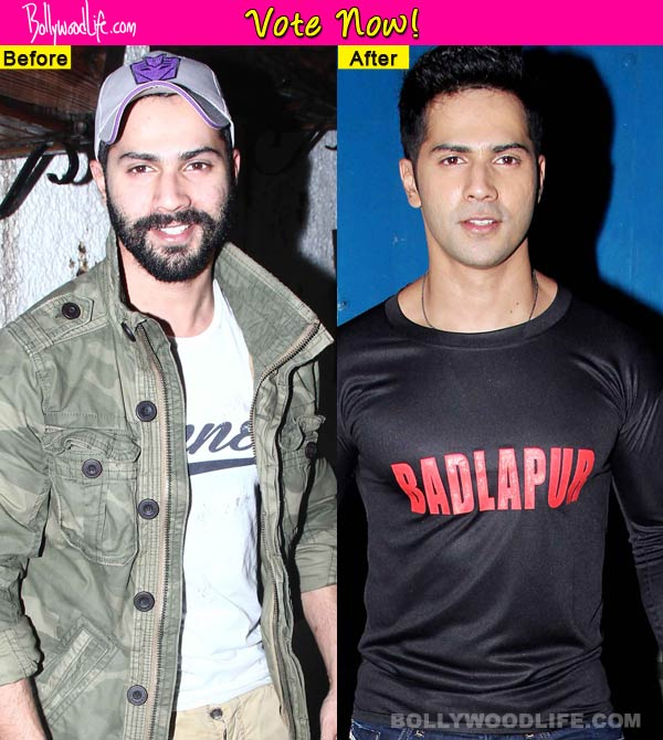 Varun Dhawan - with stubble or clean shaven? Vote now!
