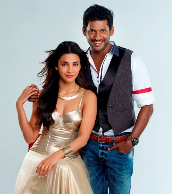 Vishal gets into action mode shooting for Poojai in Bihar!
