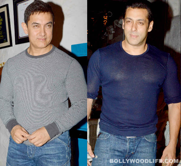 Salman Khan and Aamir Khan's clash on the small screen