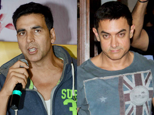 Did Akshay Kumar take a potshot at Aamir Khan?