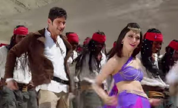 Aagadu Bhelpuri song teaser: Mahesh Babu and Tamannaah sizzle together!