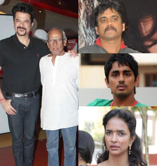 Anil Kapoor, Akkineni Nagarjuna, Siddharth and Lakshmi Manchu condole Bapu's demise!