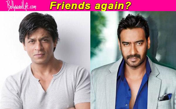 Animosity between Shah Rukh Khan and Ajay Devgn ends!