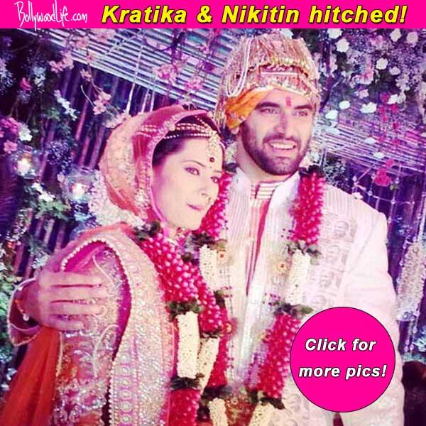 Nikitin Dheer and Kratika Sengar finally hitched – view pics!