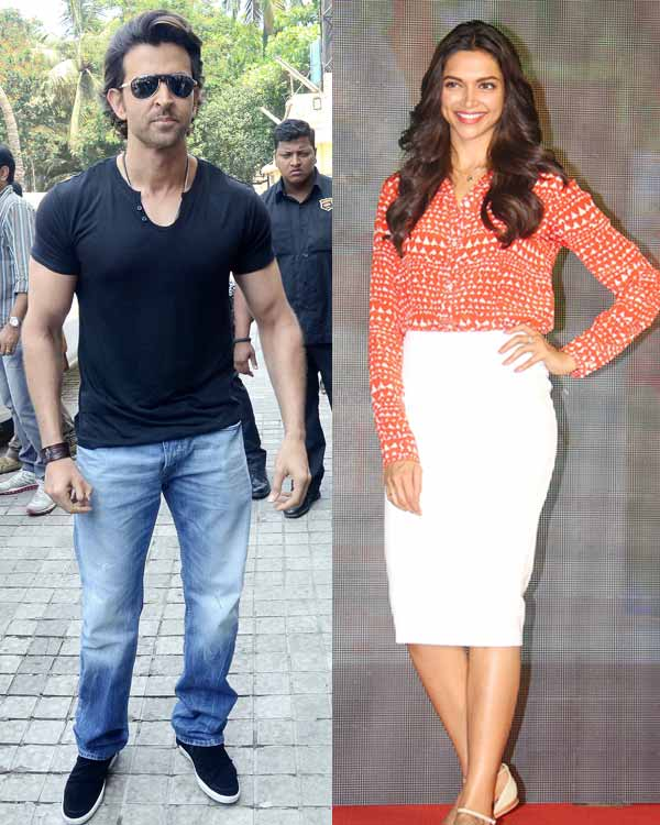 Hrithik Roshan and Deepika Padukone to come together for a film?