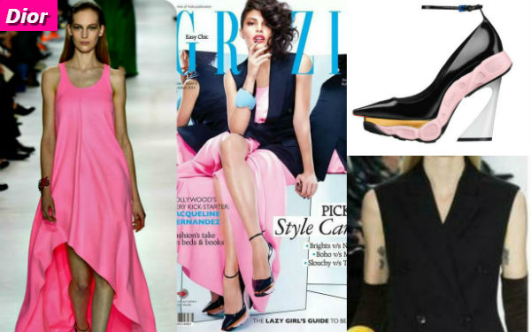Style Stalking Jacqueline Fernandez Dressed In Dior From Head To Toe For Magazine Cover