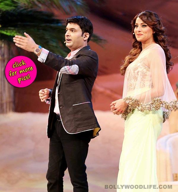 Bipasha Basu and Imran Abbas Naqvi promote Creature 3D on Kapil Sharma's Comedy Nights with Kapil in Dubai!