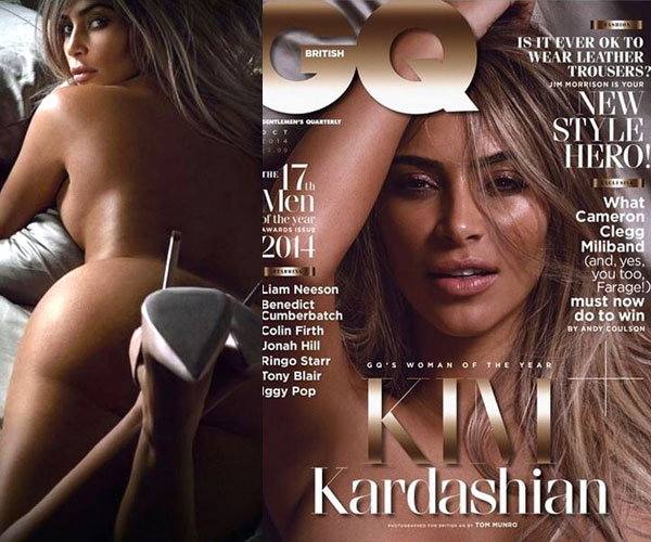 Revealed: Kim Kardashian's nude pictures from a magazine shoot - View pics!