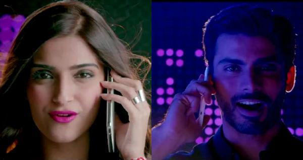 Khoobsurat song Maa Ka Phone: Check out who's ruining Sonam Kapoor and Fawad Khan's romantic moments!