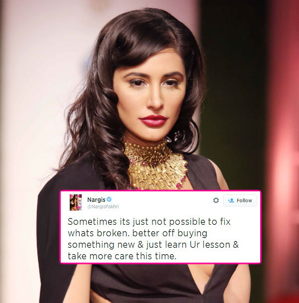 Is Nargis Fakhri heart-broken over break up with Uday Chopra?