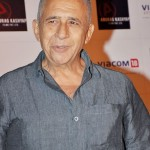 What did Finding Fanny's Naseeruddin Shah tell his father at his grave?