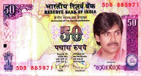 Pawan Kalyan's image morphed on currency note creates controversy!