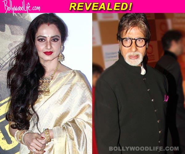 Rekha copies Amitabh Bachchan!