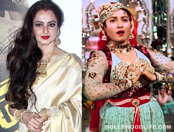 Rekha's tribute to Madhubala in Super Nani!