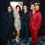 Salman Khan at Dr Cabbie premiere along with Katrina Kaif's sister Isabel Kaif, Kunal Nayyar and Vinay Virmani