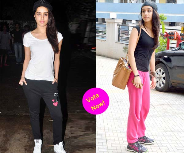 Which sporty look do you prefer ABCD 2 actor Shraddha Kapoor in? Vote!