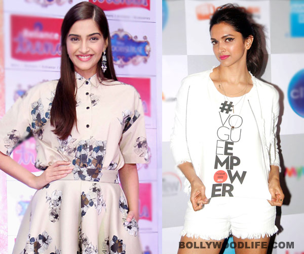 Sonam Kapoor and Deepika Padukone haven't patched up yet ...