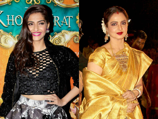 Rekha wants her upcoming film Super Nani's trailer to be attached to Sonam Kapoor's Khoobsurat