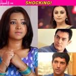 Rani Mukerji, Farhan Akhtar, Aamir Khan refuse to comment on the Shweta Basu Prasad controversy