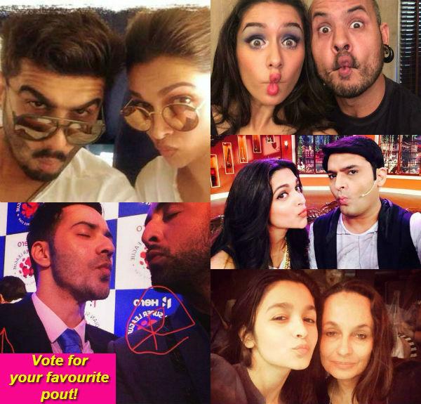 Deepika Padukone, Alia Bhatt, Ranbir Kapoor or Varun Dhawan: Who pouts the best in Bollywood?