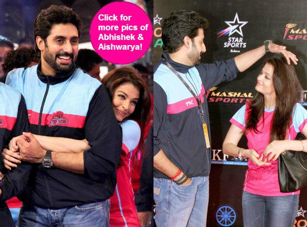 When Abhishek Bachchan and Aishwarya Rai Bachchan's PDA was too cute to handle- View pics!