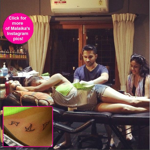 Malaika Arora Khan makes getting inked sexy!