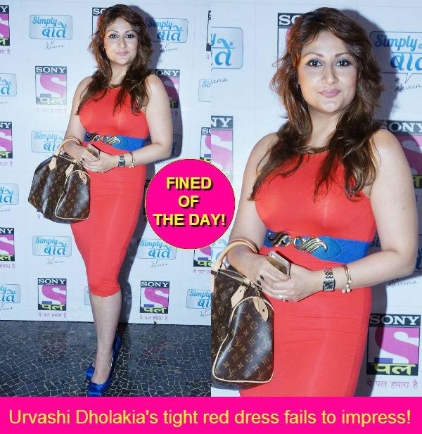 Bigg Boss winner Urvashi Dholakia loses in the game of fashion!