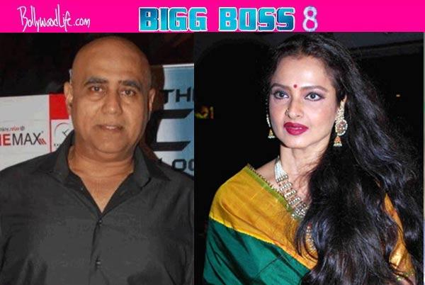 Shocking: Rekha ignores Puneet Issar on Bigg Boss 8