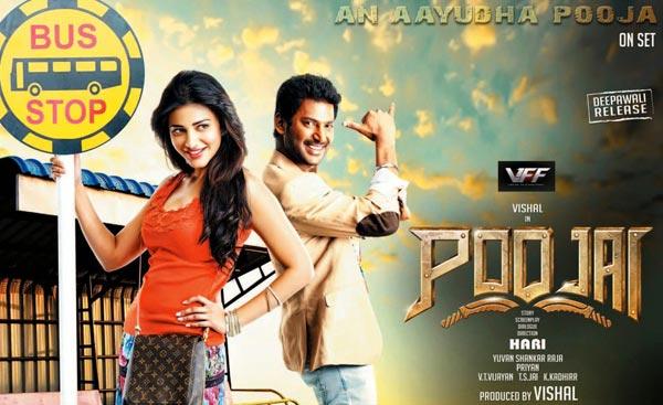 Poojai Review: A regular Hari entertainer - Bollywoodlife.com Poojai Tamil Movie