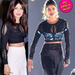 Priyanka Chopra repeats her crop-top at ISL opening ceremony, adds a funky twist!