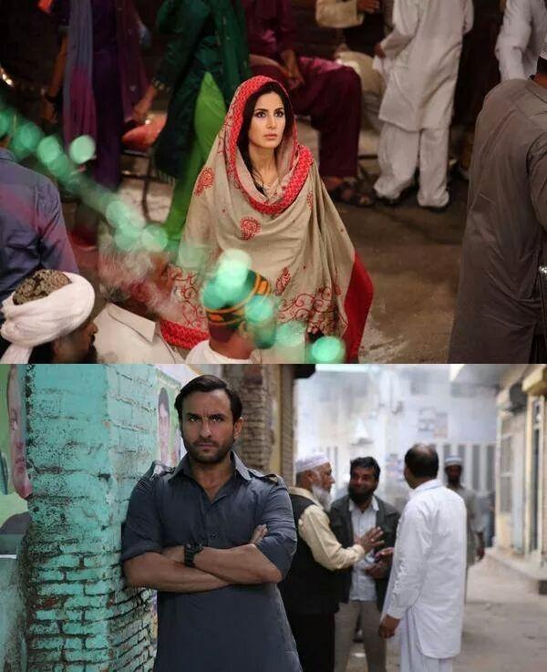 Phantom first look: Saif Ali Khan-Katrina Kaif sport desi look for Kabir Khan's film!