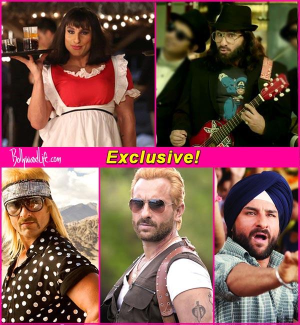 Happy Ending, Go Goa Gone, Humshakals or Love Aaj Kal-which Saif Ali Khan look do you like the most? Vote!