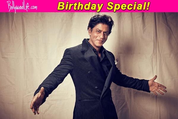 Shah Rukh Khan birthday special 11 milestones achieved by King – Bollywood Birthday Card