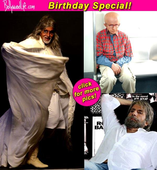 Birthday Special: A sneak peek at Amitabh Bachchan's various avatars!