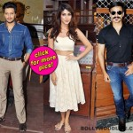 Spotted: Vivek Oberoi, Riteish Deshmukh and Rhea Chakraborty on the sets of Bank Chor!