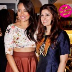 Sonakshi Sinha visits Twinkle Khanna's store – View pics!