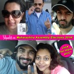 Maharashtra Assembly Elections 2014: Gulshan Grover, Pooja Bedi, Karan Grover and R Madhavan exercise their right to vote!