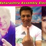 Maharashtra Assembly Elections 2014: Varun Dhawan, David Dhawan, Madhur Bhandarkar and Mandira Bedi post their voting pictures!
