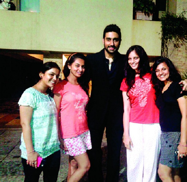 Abhishek Bachchan's office tormented by female fans after Happy New Year success!