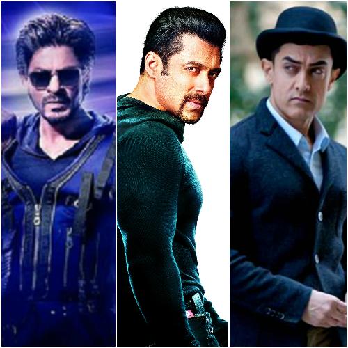 Shah Rukh Khan beats Aamir Khan and Salman Khan on Twitter ...