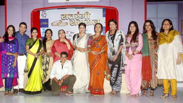 Zee TV launches it's newest show Satrangi Sasural!