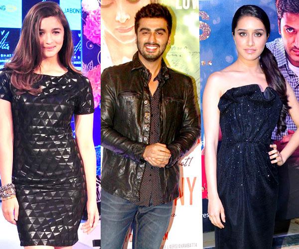 Alia Bhatt, Shraddha Kapoor, Arjun Kapoor- stars who appeared in at least three movies this year!