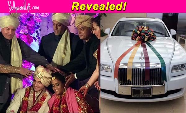 Revealed Salman Khans Gift To Sister Arpita Khan And Brother In Law Ayush