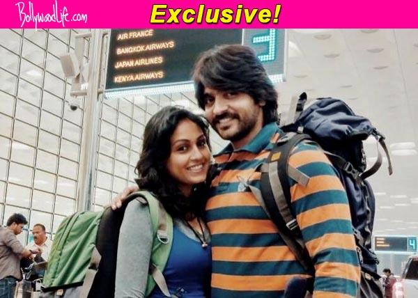 Ashish Sharma and Archana Taide finally off to their honeymoon: View pic!
