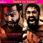 Badlapur new poster: After Leonardo DiCaprio, did Varun Dhawan copy Gerard Butler!