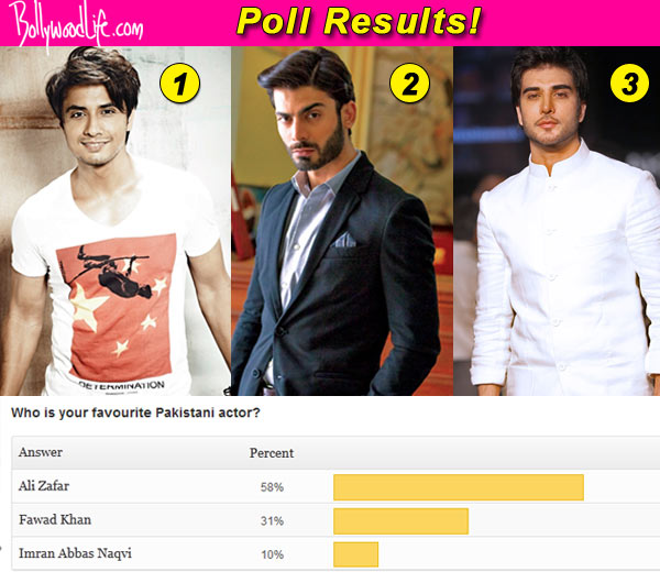 Ali Zafar beats Fawad Khan to become the most loved Pakistani actor in Bollywood!