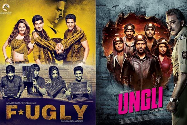 How is Emraan Hashmi-Kangana Ranaut's Ungli similar to Jimmy Sheirgill- Vijender Singh's Fugly
